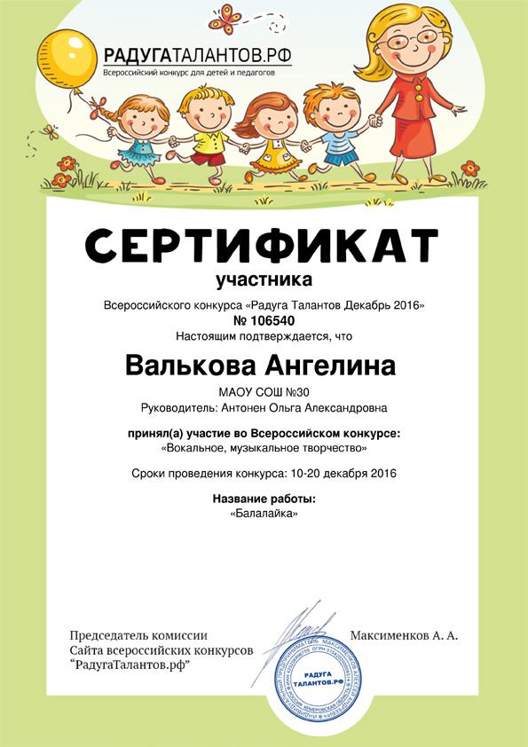 Конкурсы для дополнительное образование детей